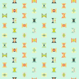 Sunkissed Arrowheads - Spirit Animal by Tula Pink
