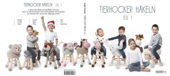 Tierhocker häkeln Teil 1 / Buch 1 Anja Toonen deutsch