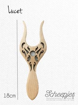 Scheepjes  Strickgabel - Lucet Kordelmacher aus Echtholz