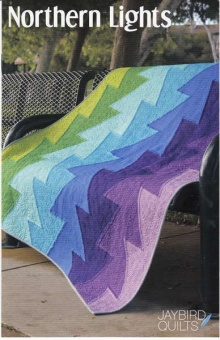 Northern Lights Patchworkdecke - Hex'N'More Schnittmuster Booklet - Jaybird Quilts