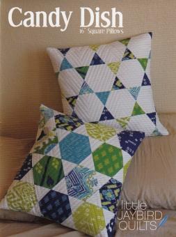 Candy Dish Dekokissen - Hex'n'More Kopfkissen Schnittmuster Booklet - Jaybird Quilts