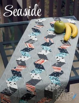 Seaside Table Runner Tischläufer - Sidekick Tischdecke Schnittmuster Booklet - Jaybird Quilts