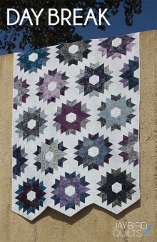 Day Break Patchworkdecke - Sidekick Hex'N'More Schnittmuster Booklet - Jaybird Quilts