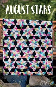 August Stars Patchworkdecke - Sidekick Schnittmuster Booklet - Jaybird Quilts
