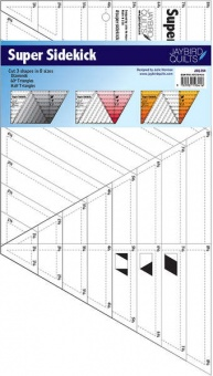 SUPER Sidekick Speziallineal für Diamanten & Dreiecke - Jaybird Quilts