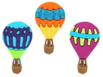 Heißluftballons Knöpfe - Hot Air Balloons - Knopfset