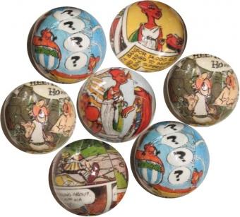 Einzigartige Asterix & Obelix Comic-Perlen - Unikate!