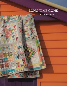 """Long Time Gone Sampler Pattern Anleitung - Patchworkbuch von """"Gypsy Wife""""'s Jen Kingwell"""