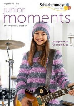 Junior Moments No. 005 - Lässige Mode für coole Kids - Schachenmayr Magazin
