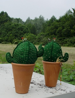 Prickly Pear Kaktus Nadelkissen Materialpackung