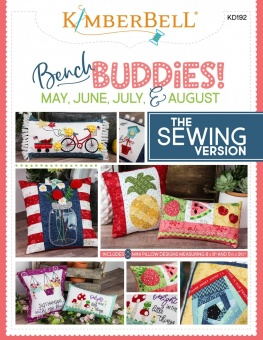 Bench Buddies Schnittmuster & Nähanleitung - Kimberbell Bench Buddy Series May - August - The Sewing Version
