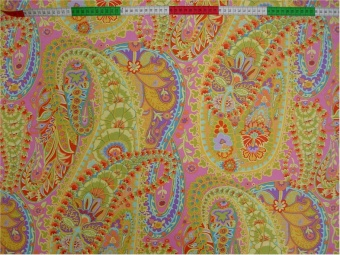 Kaffe Fassett: Lime Paisley Jungle