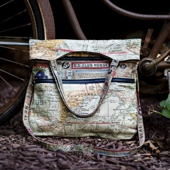 Expedition Travel Tote - Tim Holtz Eclectic Elements - MATERIALPACKUNG