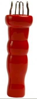 Rotes Strickliesel - Strickpüppchen von KnitPro - Passion Red