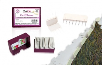 Knit Pro Kammnadeln Set - Spannnadeln für Strick- & Häkelprojekte