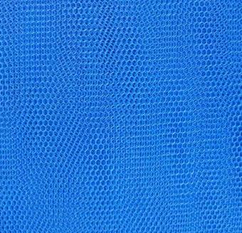 Royalblauer Wabentüll - Tüll  Königsblau - Royal Blue