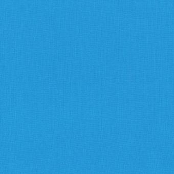 Paris Blue / Pariser Blau - Kona Cotton Solids Unistoffe