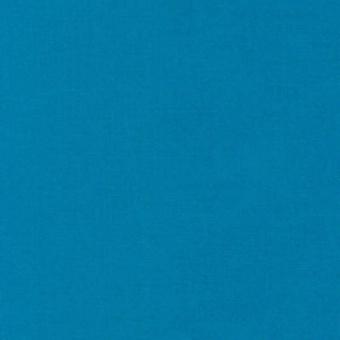 Oasis Blue / Oase Petrolblau - Kona Cotton Solids Unistoffe