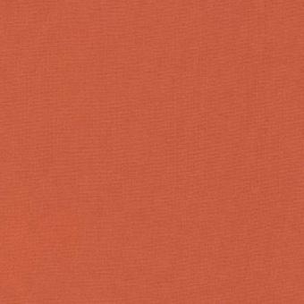Terracotta / Orangebraun - Kona Cotton Solids Unistoffe