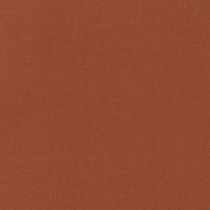 Spice / Orangebraun - Kona Cotton Solids Unistoffe