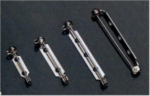 Broschennadeln 25mm 5 Stk/Beutel