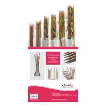 Nadelspiel-Set - KnitPro Symfonie - 20cm Nadelspiele DPNs - Double Pointed Needles