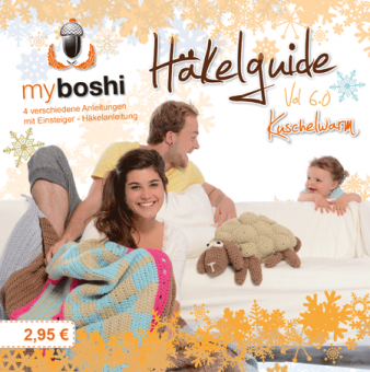 Häkelguide Vol 6.0 myboshi original - Kuschelwarm für No.1 & No.3