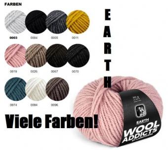 Wooladdicts EARTH Strickgarn - VIELE FARBEN! - Kuscheliges Alpaka-Merino Handstrickgarn - LANG YARNS