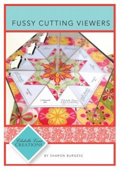 Fussy Cutting Viewers 1 I - Lilablle Lane Creations - Creative Abundance Kaeleidoscope Quilting