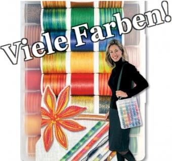 Decora No. 6 - Multicolor Overlock Stickgarne / Overlockgarn / Dekogarn