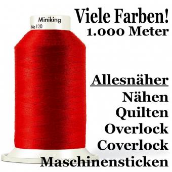 Gütermann Miniking Allesnäher No.100 1000 m - Premium Nähgarn