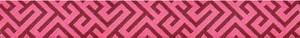 Borten, Zierlitzen & Webbänder - Grand Bazaar Modkid by Patty Young Corridors Jacquard Ribbon 7/8in