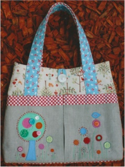 Flower Garden Patchworktasche - Melly & Me