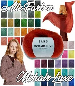 Mohair Luxe Strickgarn - Superkid-Mohair + Seide von Lang Yarns