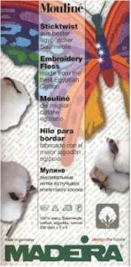 Madeira Moulinè Sticktwist Garnmusterkarte