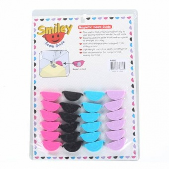 "Magnetische Saumhilfe / Magnetic Seam Guide ""Smiley"" - LIMITED EDITION!"