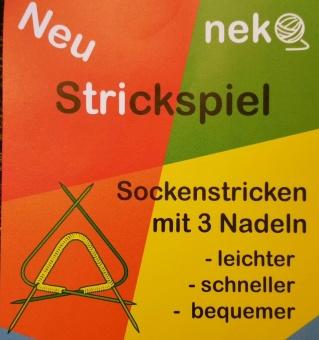 """""""Um-die-Ecke-Stricknadeln"""" - Strickspiel Nekoknit - Größe 12mm - AKTION!"""