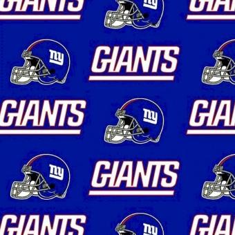 New York Giants Motivstoff - Original NFL Lizenzstoff - American Football Meterware