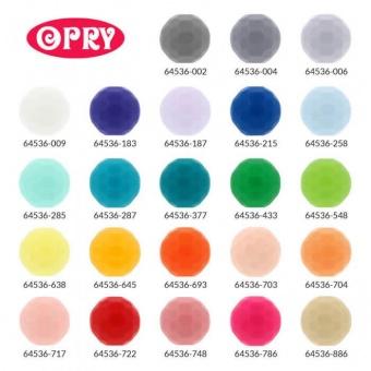 Silikonperlen für Babyspielzeuge - Schnullerketten / Beißring / Rasselring / Greifring - Verschiedene Farben