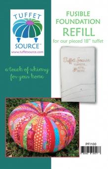 "Refill Fusible Foundation für Tuffet / Hocker  Tuffet 18"" x 6 inches"