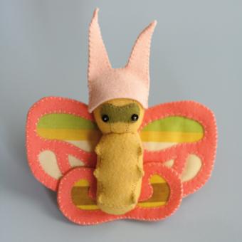Butterfly Wee Wonderfuls Schnittmuster - Englisch