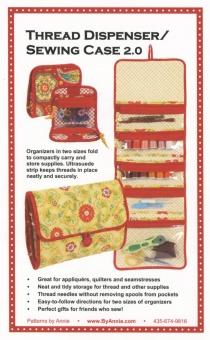 Nähtasche / Werkzeugtasche - Thread Dispenser / Sewing Case 2.0 - by Annie Schnittmuster