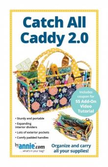 Nähtasche / Werkzeugtasche - Catch All Caddy 2.0 Handtasche - by Annie Schnittmuster