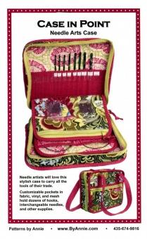 Stricktasche / Häkeltasche - Case in Point Needle Arts Case - by Annie Schnittmuster