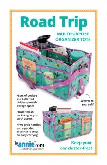 Auto Rücksitzorganizer / Reise-Caddy - Road Trip Multipurpose Organizer Tote - by Annie Schnittmuster
