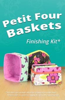 Organizer Petit Four Baskets - by Annie Schnittmuster inkl. Stabilisator