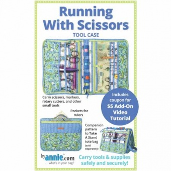 Nähtasche / Werkzeugtasche - Running with Scissors Tool Case - by Annie Schnittmuster