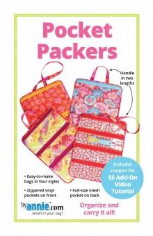 Pocket Packers Organizer Taschen - by Annie Schnittmuster