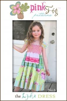 The Lydia Dress Kleidchen - Pink Fig Pattern Schnittmuster