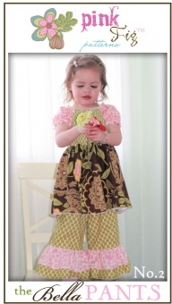 The Bella Pants Hose - Pink Fig Pattern Schnittmuster
